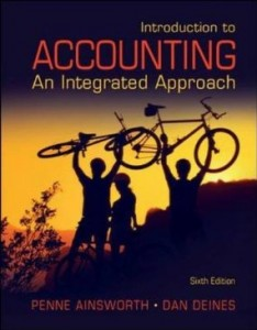 Test bank for Introduction to Accounting An Integrated Approach 6th edition by Ainsworth