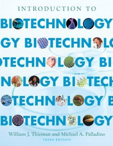 Test bank for Introduction to Biotechnology 3rd Edition by Thieman