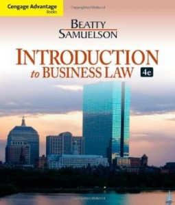 Test bank for Introduction to Business Law 4th Edition by Beatty