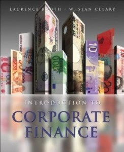 Test bank for Introduction to Corporate Finance 2nd Edition by Booth