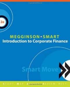 Test bank for Introduction to Corporate Finance 2nd Edition by Megginson