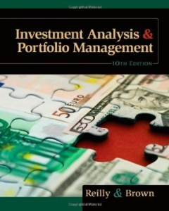 Test bank for Investment Analysis and Portfolio Management 10th Edition by Reilly