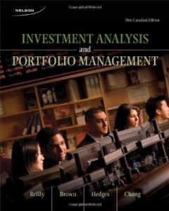 Test bank for Investment Analysis and Portfolio Management 1st Canadian Edition by Reilly