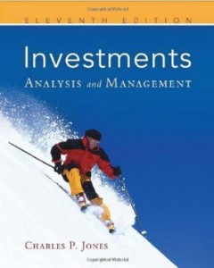 Test bank for Investments Analysis and Management 11th Edition by Jones