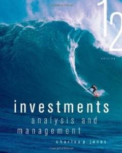 Test bank for Investments Analysis and Management 12th Edition by Jones
