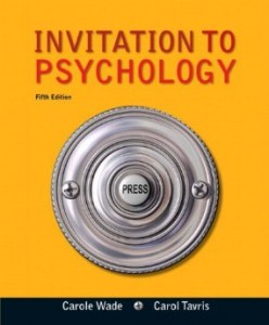 Test bank for Invitation to Psychology 5th Edition by Wade