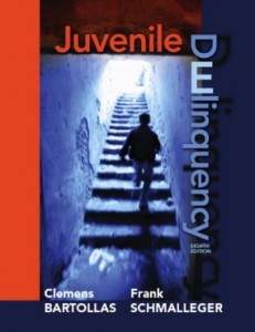 Test bank for Juvenile Delinquency 8th Edition by Bartollas