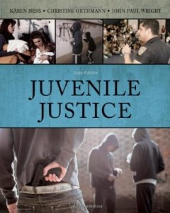 Test bank for Juvenile Justice 6th Edition by Hess