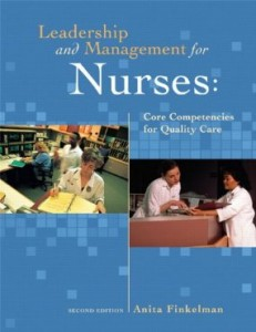 Test bank for Leadership and Management for Nurses Core Competencies for Quality Care 2nd Edition by Finkelman