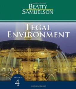 Test bank for Legal Environment 4th Edition by Beatty