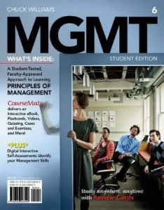 Test bank for MGMT 6th Edition by Williams