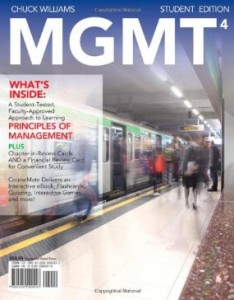 Test bank for MGMT4 4th Edition by Williams