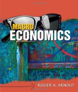 Test bank for Macroeconomics 10th Edition by Arnold