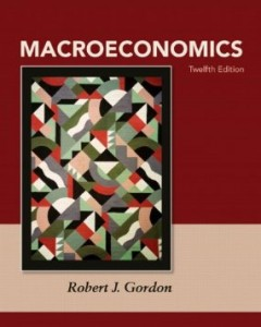 Test bank for Macroeconomics 12th Edition by Gordon