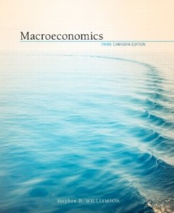 Test bank for Macroeconomics 3rd Canadian Edition by Williamson