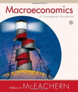 Test bank for Macroeconomics A Contemporary Introduction 9th Edition by McEachern