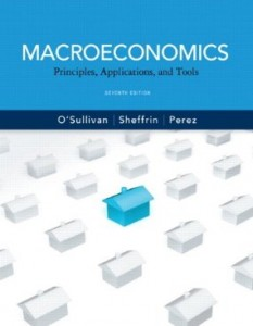 Test bank for Macroeconomics Principles Applications and Tools 7th Edition by OSullivan