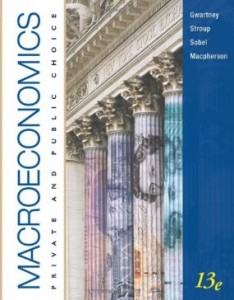 Test bank for Macroeconomics Private and Public Choice 13th Edition by Gwartney