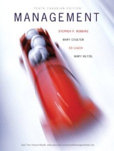 Test bank for Management 10th Canadian Edition by Robbins
