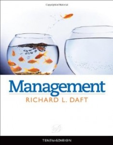 Test bank for Management 10th Edition by Daft