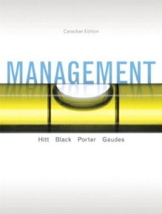 Test bank for Management 1st Canadian Edition by Hitt