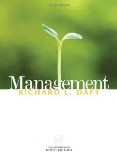 Test bank for Management 9th Edition by Daft