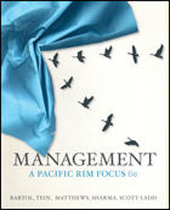Test bank for Management A Pacific Rim Focus 6th Edition by Bartol