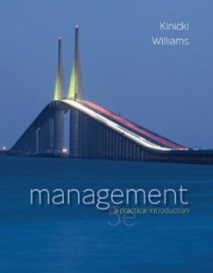 Test bank for Management A Practical Introduction 5th Edition by Kinicki