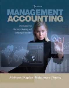 Test bank for Management Accounting Information for Decision-Making and Strategy Execution 6th Edition by Atkinson