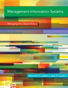 Test bank for Management Information Systems 13th Edition by Laudon
