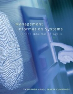 Test bank for Management Information Systems for the Information Age 8th Edition by Haag