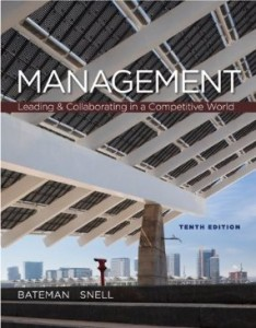 Test bank for Management Leading and Collaborating in a Competitive World 10th Edition by Bateman
