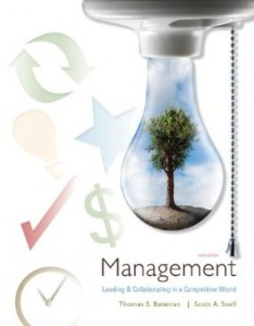 Test bank for Management Leading and Collaborating in a Competitive World 9th Edition by Bateman