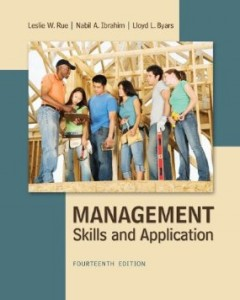 Test bank for Management Skills and Application 14th Edition by Rue