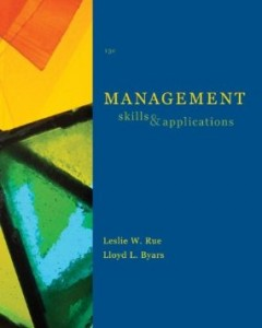 Test bank for Management Skills and Applications 13th Edition by Rue