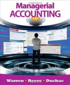 Test bank for Managerial Accounting 11th Edition by Warren