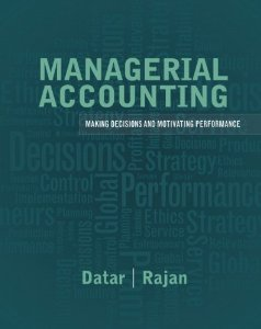 Test bank for Managerial Accounting 1st Edition by Datar