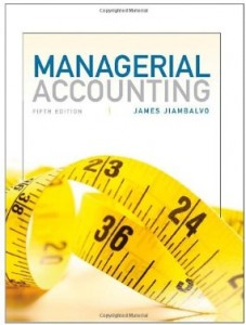 Test bank for Managerial Accounting 5th Edition by Jiambalvo