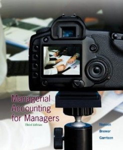 Test bank for Managerial Accounting for Managers 3rd Edition by Noreen