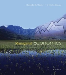 Test bank for Managerial Economics 9th Edition by Thomas