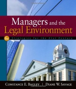 Test bank for Managers and the Legal Environment Strategies for the 21st Century 6th Edition by Bagley