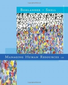 Test bank for Managing Human Resources 15th Edition by Bohlander