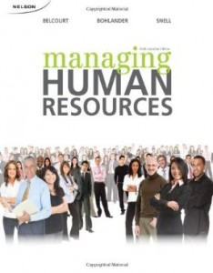 Test bank for Managing Human Resources 6th Canadian Edition by Belcourt