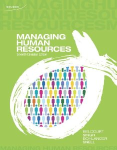 Test bank for Managing Human Resources 7th Canadian Edition by Belcourt