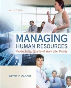 Test bank for Managing Human Resources Productivity Quality of Work Life Profits 9th Edition by Cascio