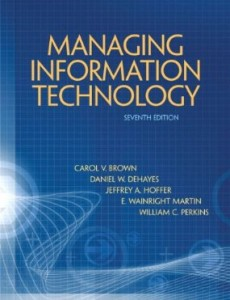 Test bank for Managing Information Technology 7th Edition by Brown