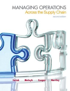 Test bank for Managing Operations Across the Supply Chain 2nd Edition by Swink