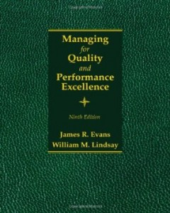 Test bank for Managing for Quality and Performance Excellence 9th Edition by Evans