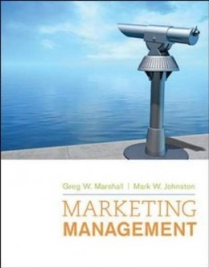 Test bank for Marketing Management 1st Edition by Marshall