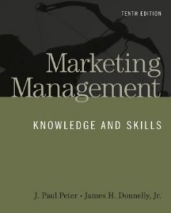 Test bank for Marketing Management Knowledge and Skills 10th Edition by Peter